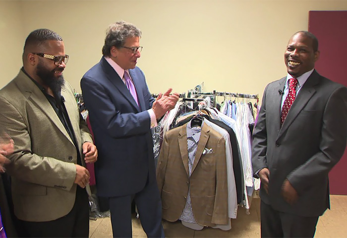 '100 Suits' Nonprofit Gives New Suit And Fresh Start To Men Getting Out Of Prison