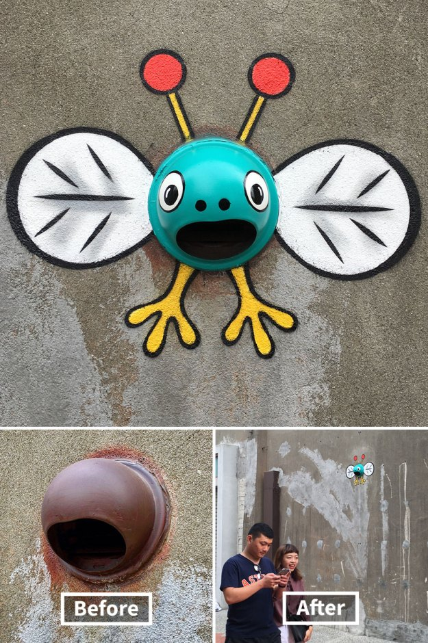 street-art-tom-bob-new-york-city-2-5b169f4c40f3e__880 Genius Street Artist Is Running Loose In New York, And Let's Hope Nobody Catches Him (30+ New Pics) Art Design Random