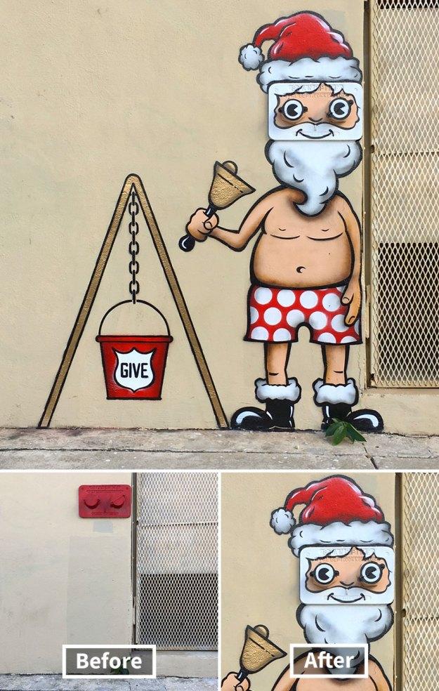 street-art-tom-bob-new-york-city-28-5b169f8fececb__880 Genius Street Artist Is Running Loose In New York, And Let's Hope Nobody Catches Him (30+ New Pics) Art Design Random