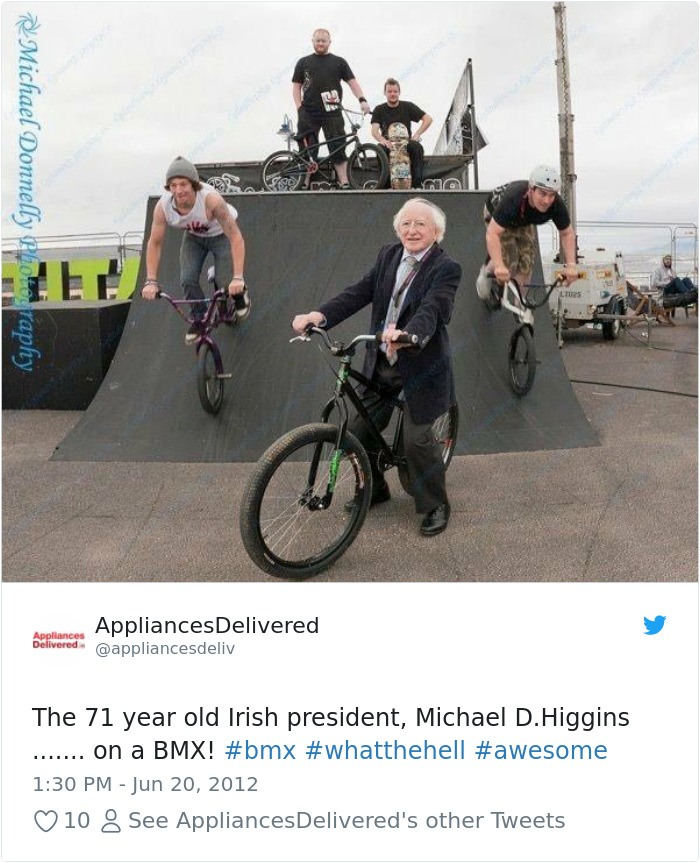 215436565923627009-png__700 Tired Of Your President? Then Take A Look At 15+ Photos Of Ireland's President Being The Best President Design Random