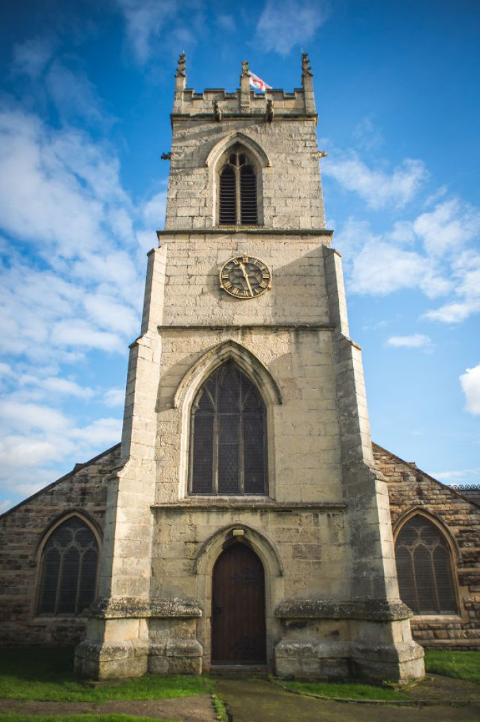 What Lunatic Designed This Church?