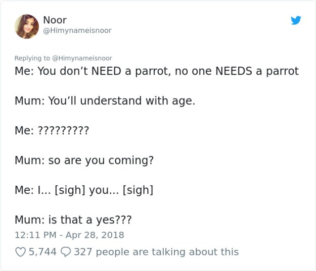990201827420459008-png__700 Mom Calls Daughter Asking If She Can 'Keep A Secret' From Dad, And It Escalates Hilariously Design Random