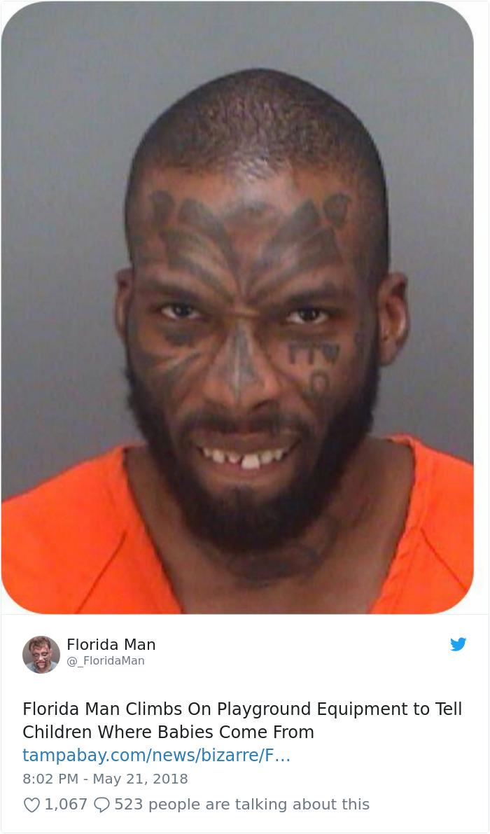 Florida Man December 14 : florida, december, Times, Florida, Something, Crazy, Headings, Twice, Bored, Panda