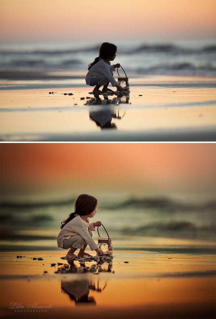 Respire en el océano