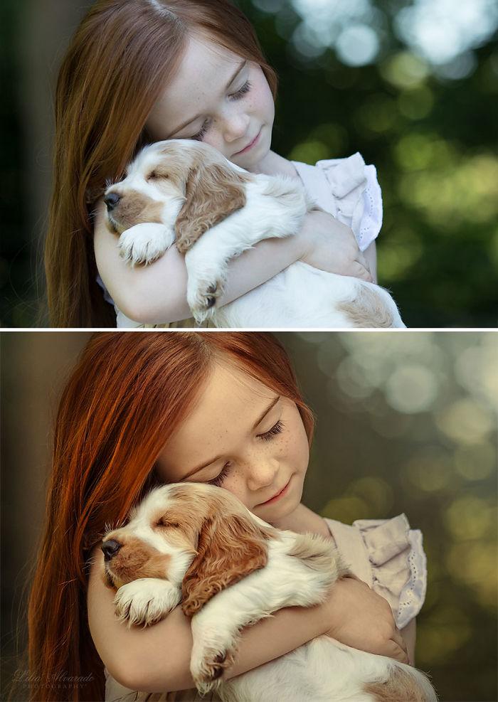 La felicidad es ... A Warm Puppy