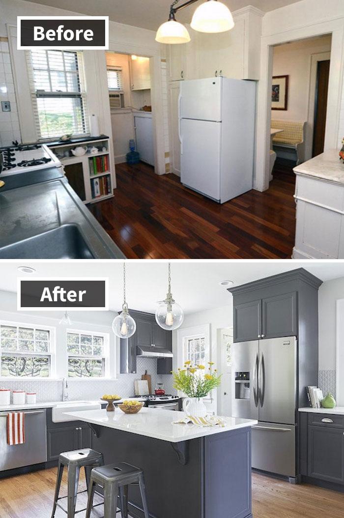 Renovación del hogar de Short Hills