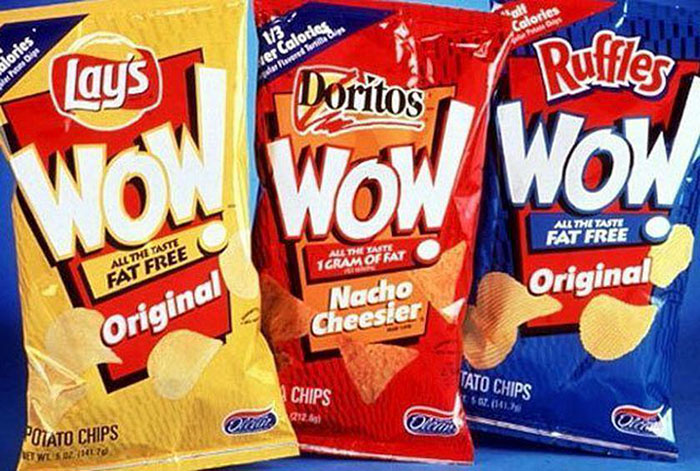 Frito-Lay Wow! Chips, 1998