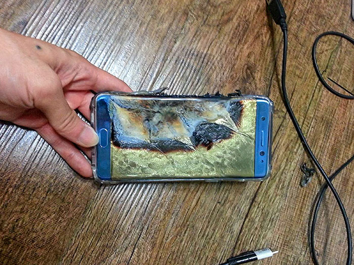 Samsung Galaxy Note 7, 2016