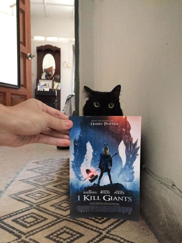 """giant-5b3b82cb50f83__880 Photographer Follows Cats Around To """"Insert"""" Them Behind Famous Movie Posters, And The Result Is Purrfect Design Random"""