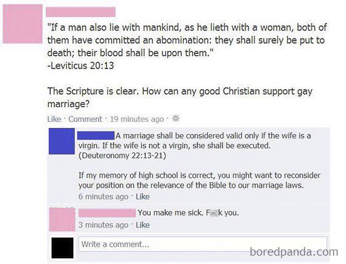 Una quemadura de proporciones bíblicas