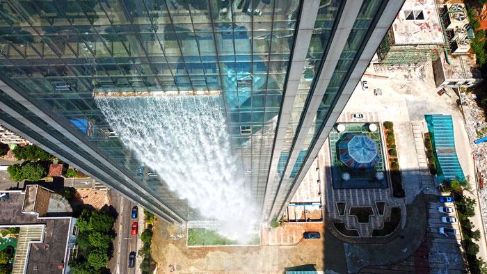 maciço-artificial-cachoeira-arranha-céu-china-guiyang-33