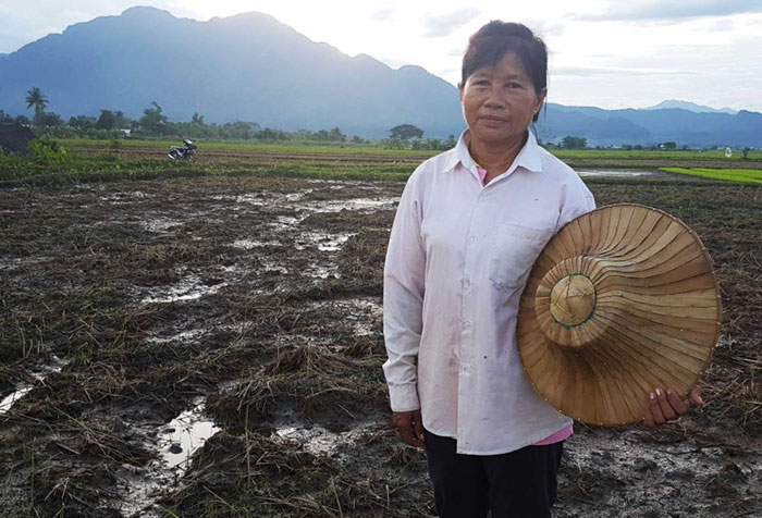 Mae Bua Chaicheun Is A Rice Farmer. Her Rice Paddies Were Destroyed By The 130 Million Liters Of Water Pumped From The Thai Cave In The Rescue Mission Of 12 Boys. Her Response: