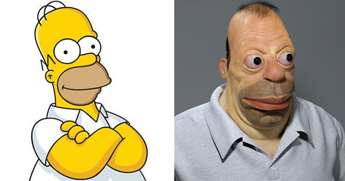 17 realistic cartoon character