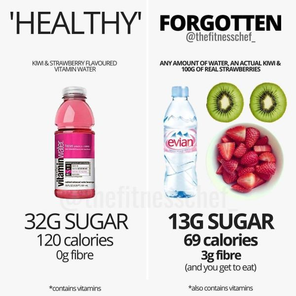 We Know That Hydration And Vitamins Are Two Things Beneficial To Us
