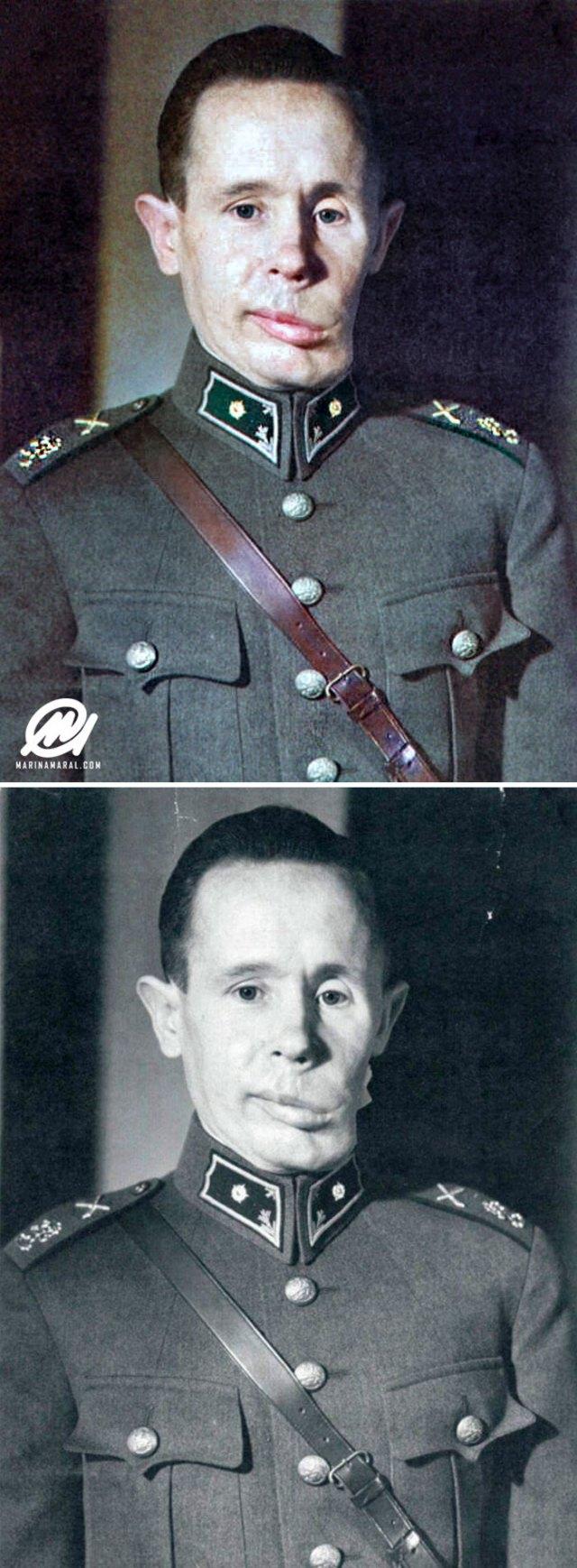El francotirador finés Simo Häyhä, la Muerte blanca