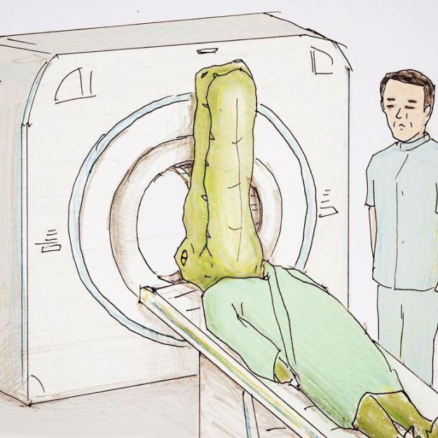 crocodile-life-animals-illustrations-keigo-japan-18-5b7a7cf08e9cd__700 20+ Problems Of A Crocodile Hilariously Illustrated By Japanese Artist Keigo Design Random