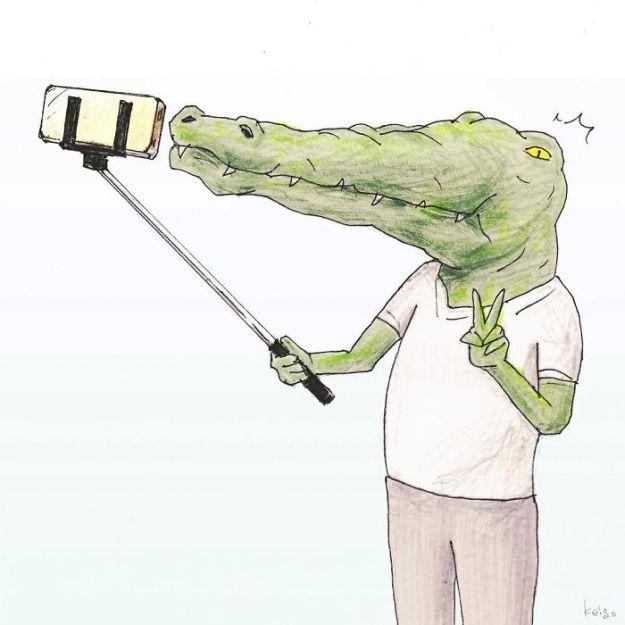 crocodile-life-animals-illustrations-keigo-japan-9-5b7a7cd71f10e__700 20+ Problems Of A Crocodile Hilariously Illustrated By Japanese Artist Keigo Design Random