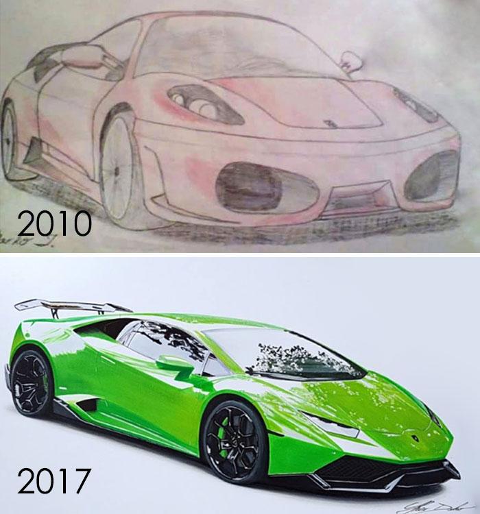 Mi progreso en 7 años