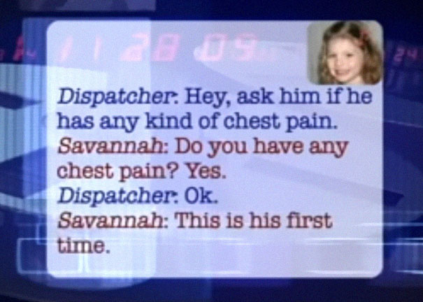 five-year-old-savannah-sick-dad-911-call-jason-bonham-indiana-5b767c623904f__605 Brave Little Girl Calls 911 To Save Dad's Life, And Her Conversation With The Dispatcher Is Cracking Everyone Up Design Random