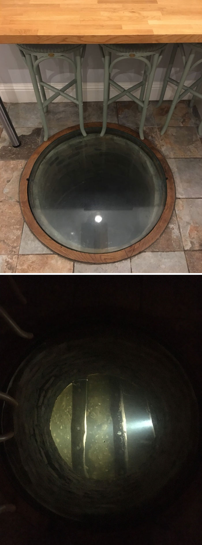 The House I'm Staying In Has Kept Its Original Well As A Feature
