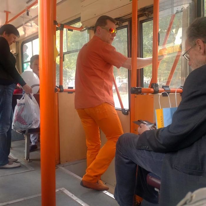 When You Became The One With The Public Transport