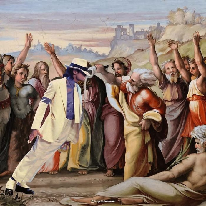 The Anointing Of Michael