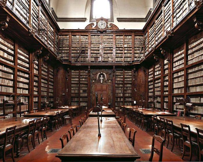 Marucelliana Library, Florence, Italy