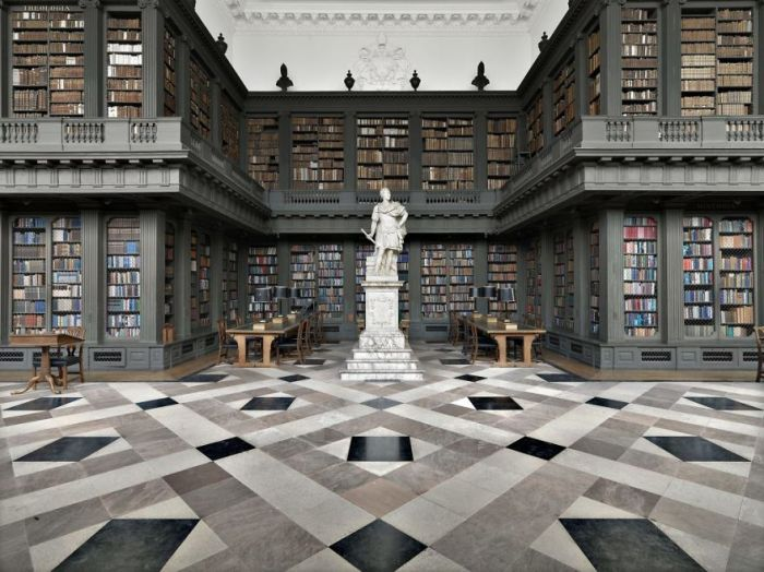 Codrington Library, Oxford, Uk
