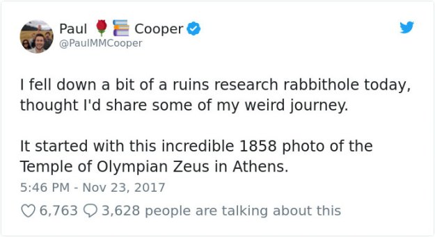 ancient-ruins-mystery-temple-olympian-zeus-athens-5ba35e485ce02__700 Guy Notices Something Odd On Top Of Ancient Greek Temple In 1858 Photo, Makes Fascinating Discovery Design Random