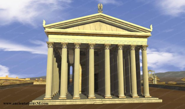 ancient-ruins-mystery-temple-olympian-zeus-athens-5ba361a29c170__700 Guy Notices Something Odd On Top Of Ancient Greek Temple In 1858 Photo, Makes Fascinating Discovery Design Random