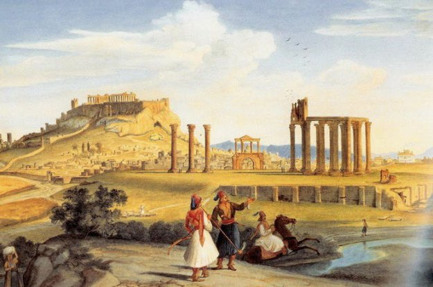 ancient-ruins-mystery-temple-olympian-zeus-athens-5ba3644f495ad__700 Guy Notices Something Odd On Top Of Ancient Greek Temple In 1858 Photo, Makes Fascinating Discovery Design Random