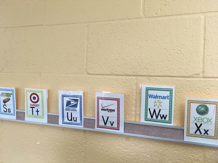 Teaching Kids To Read Via Logos