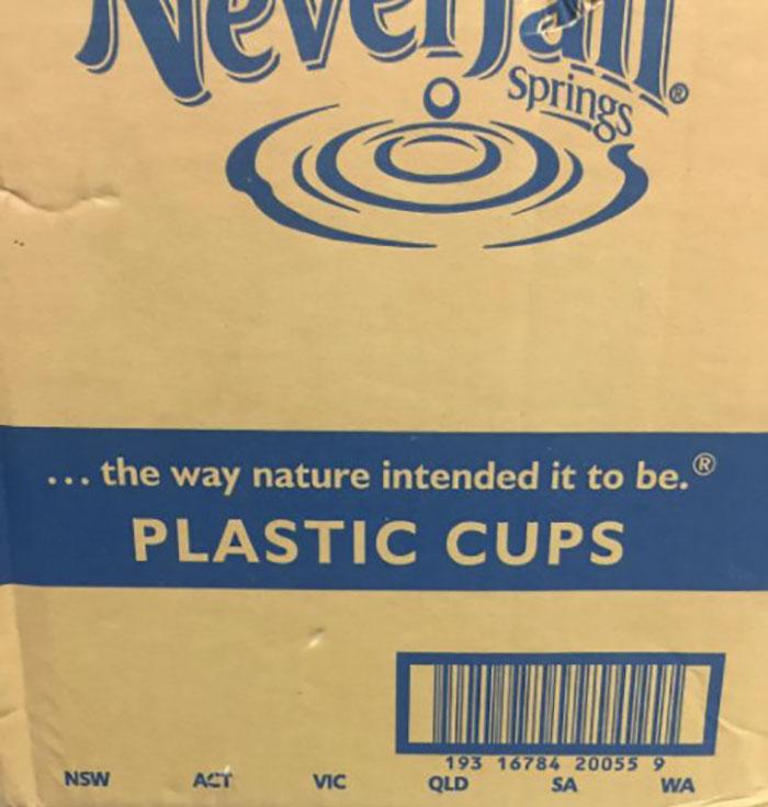 Plástico, como lo hizo Dios