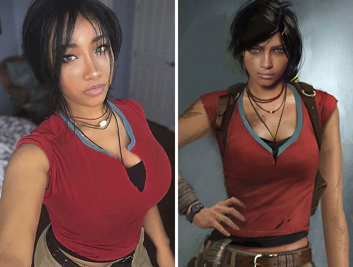 Chloe Frazer From Uncharted