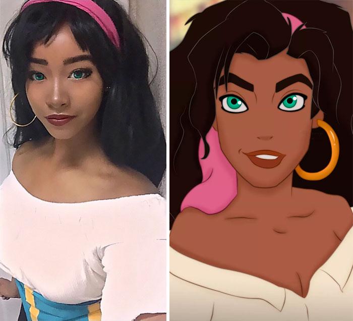 Esmeralda del jorobado de Notre-Da yo