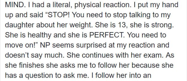 """mom-reaction-nurse-body-shaming-daughter-8-5b9a178bb216a__700 The Way This Nurse """"Body-Shamed"""" This Teen Infuriated Her Mom, But Some Think The Nurse Did The Right Thing Design Random"""