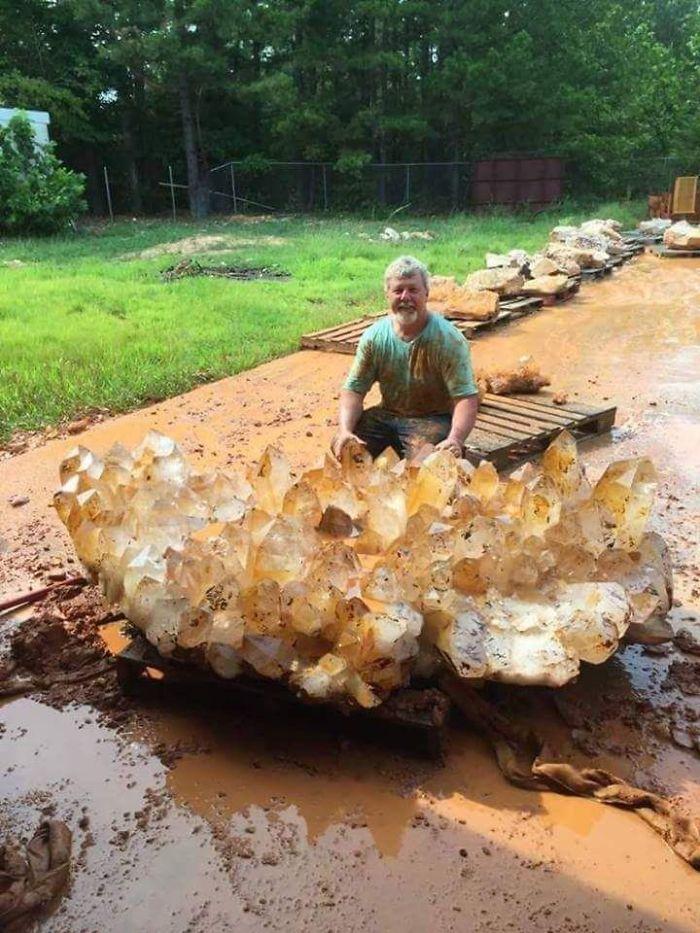 Cuarzo encontrado en Arkansas vale $ 4 millones