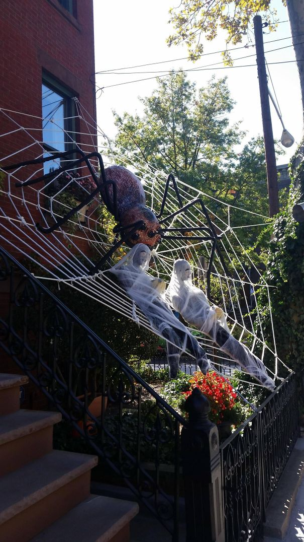 My Neighbors Take Halloween Very Seriously