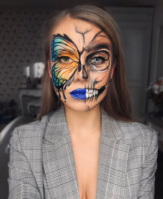 Halloween-make-up-5bd2065c802e0-jpeg__700 One Year Ago I Discovered My True Passion Was Makeup, Here're 20+ Of My Halloween Looks (NSFW) Art Design Random