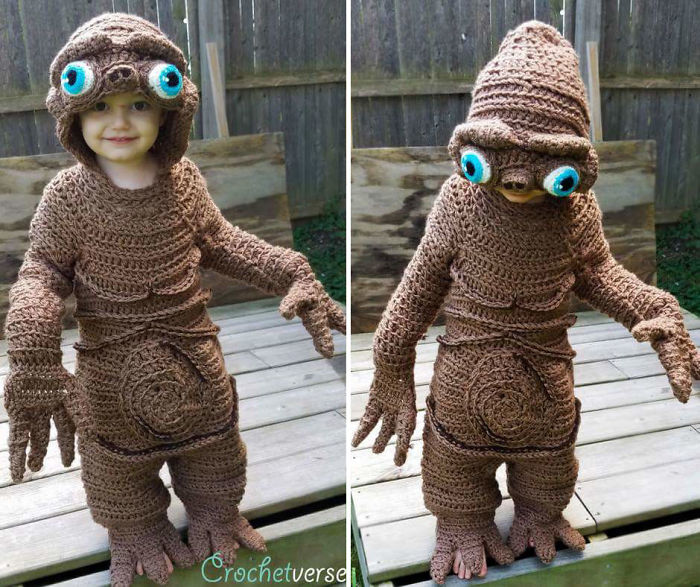 9 Halloween Costumes That I Crocheted For My Kids I Freehand Crochet Full Body Costumes for my Children for Halloween 5bc98ef5470ba  700