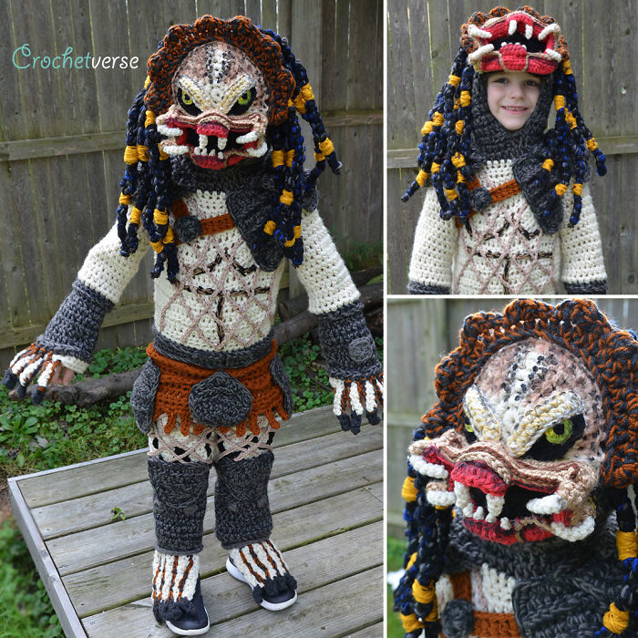 9 Halloween Costumes That I Crocheted For My Kids I Freehand Crochet Full Body Costumes for my Children for Halloween 5bc98ef76b43b  700