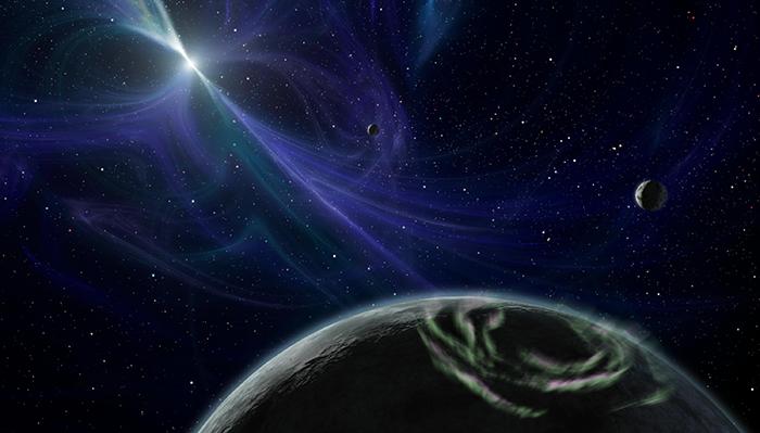 Psr J1719–1483 B - órbitas ao redor de um pulsar