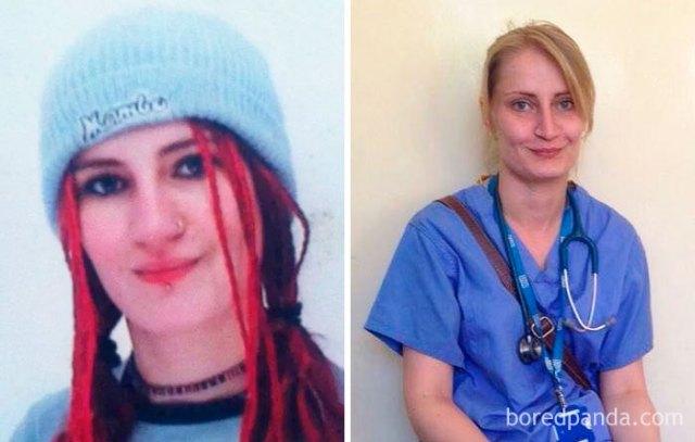 Esta mujer fue echada de la escuela a los 14 años, luchó contra su depresión y alcoholismo, y 15 años después se transformó en doctora