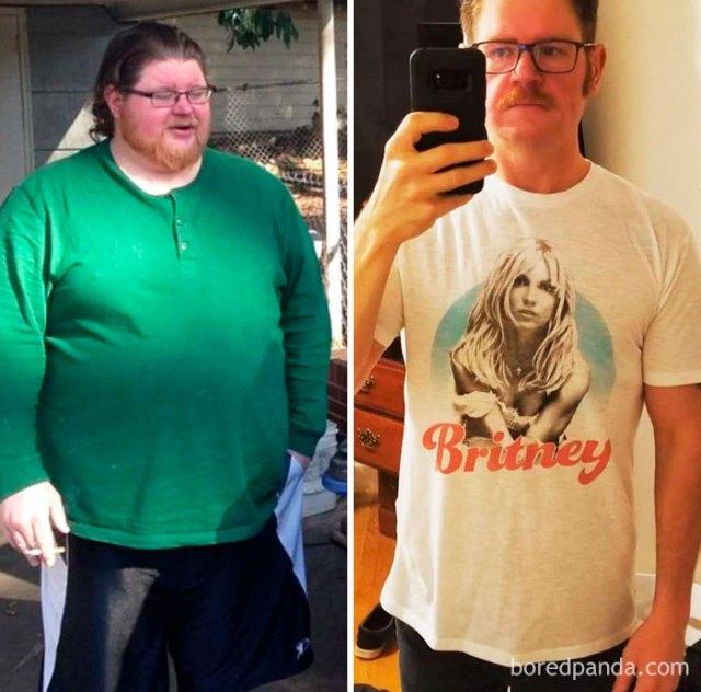 He perdido 77 kilos en 18 meses. La sobriedad, la dieta y el ejercicio han funcionado