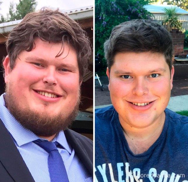 11 períodos sobrio, y he perdido 20 kilos