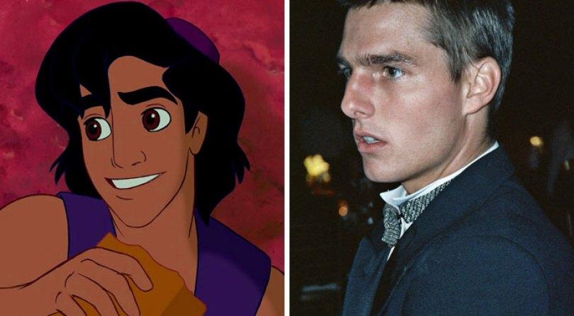 cartoon characters inspired real life people 5bcee9db6906c  700 - 15 atores reais que parecem personagens fictícios - Quem imitou quem?