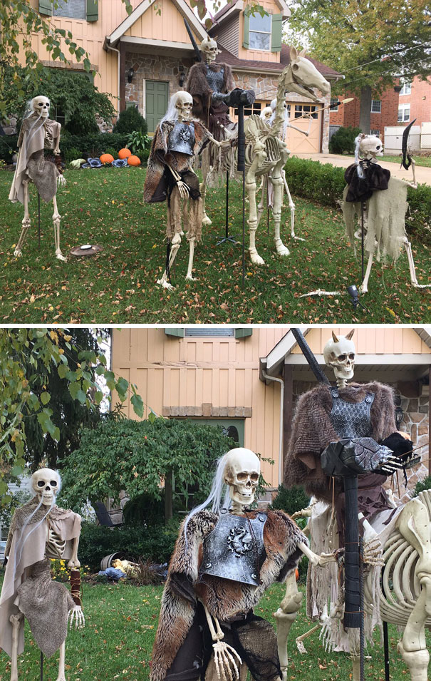 Game Of Thrones Halloween Display