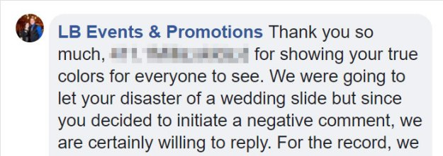 dissatisfied-bride-wedding-palnner-response-3-5bb3208dc76b4__700 Bride Posts Rude Comment About Event Planning Company So They Reveal All The Details Design Random