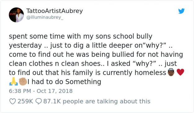 father-confronts-homeless-bully-aubrey-delinzer-7-5bcd9b3ee0319__700 This Man's 8-Year-Old Son Revealed He Was Being Bullied, So His Father Decided To Have A Talk With The Bully Design Random
