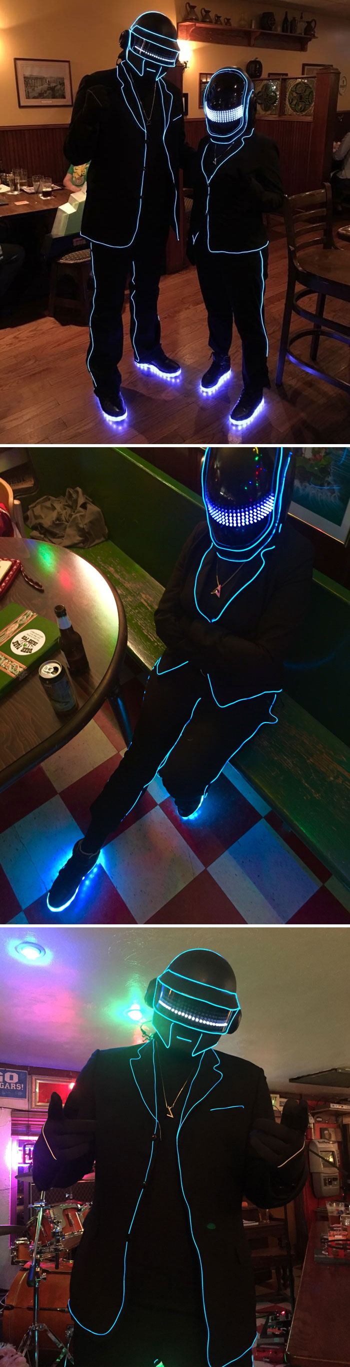 My Wife And I Made Daft Punk Halloween Costumes